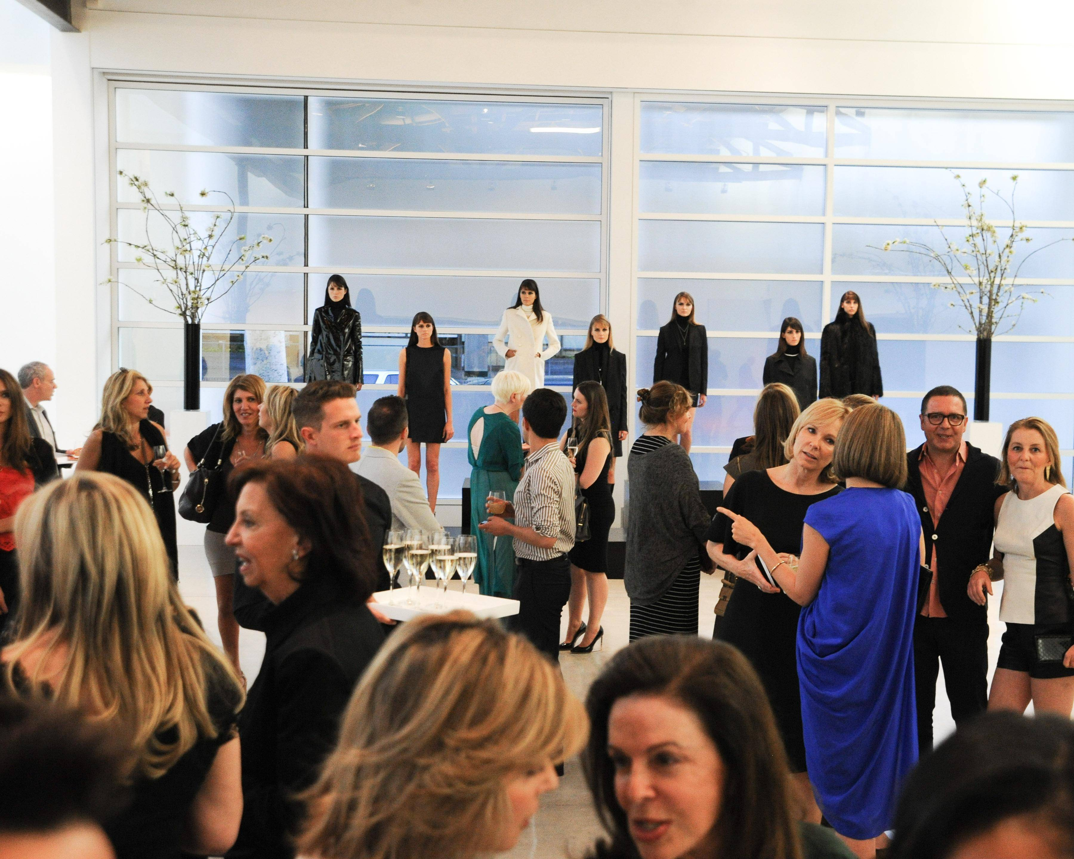 FERRAGAMO Hosts Cocktails to Announce the Inaugural Opening Gala for the WALLIS ANNENBERG CENTER For The PERFORMING ARTS