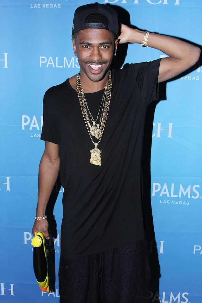 Big Sean with water gun at Palms Pool (Joe Fury)