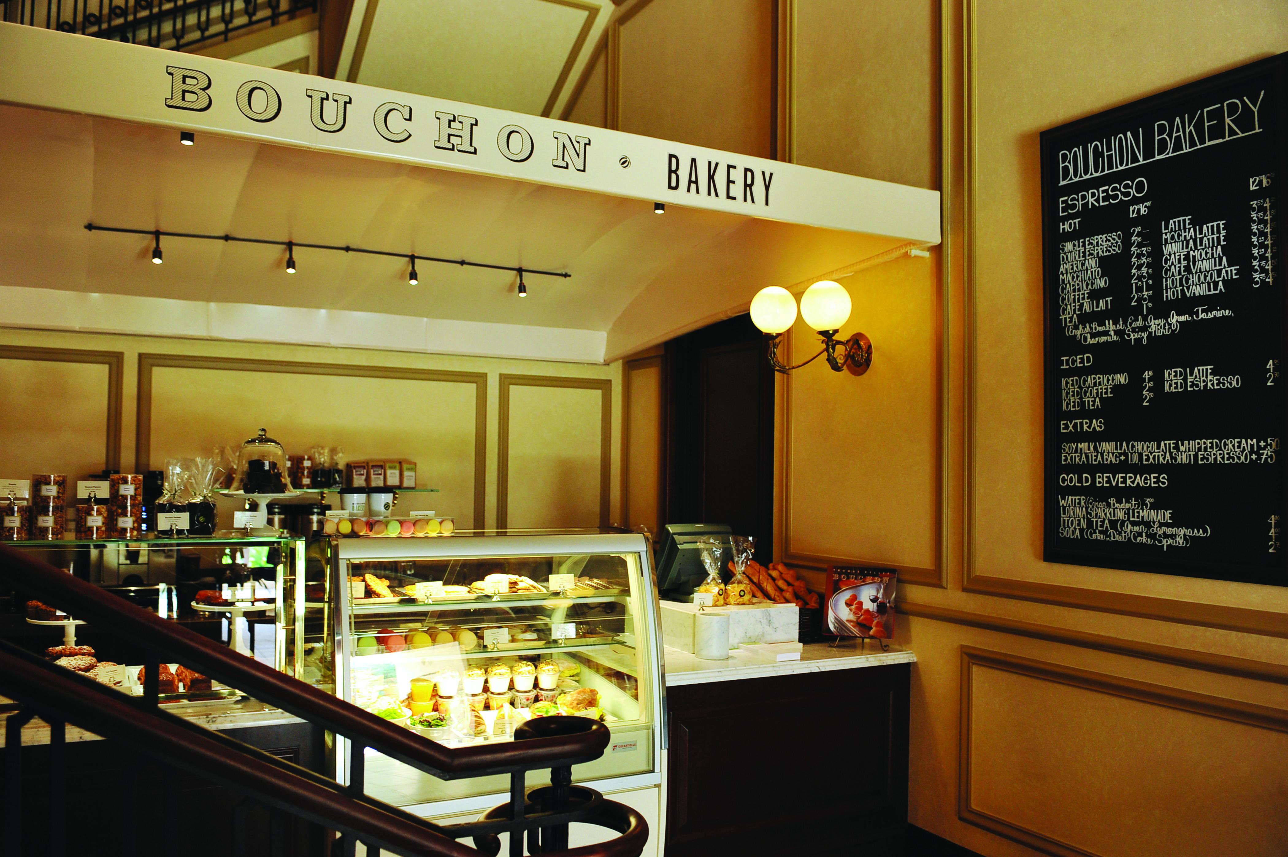Bouchon Bakery Interior