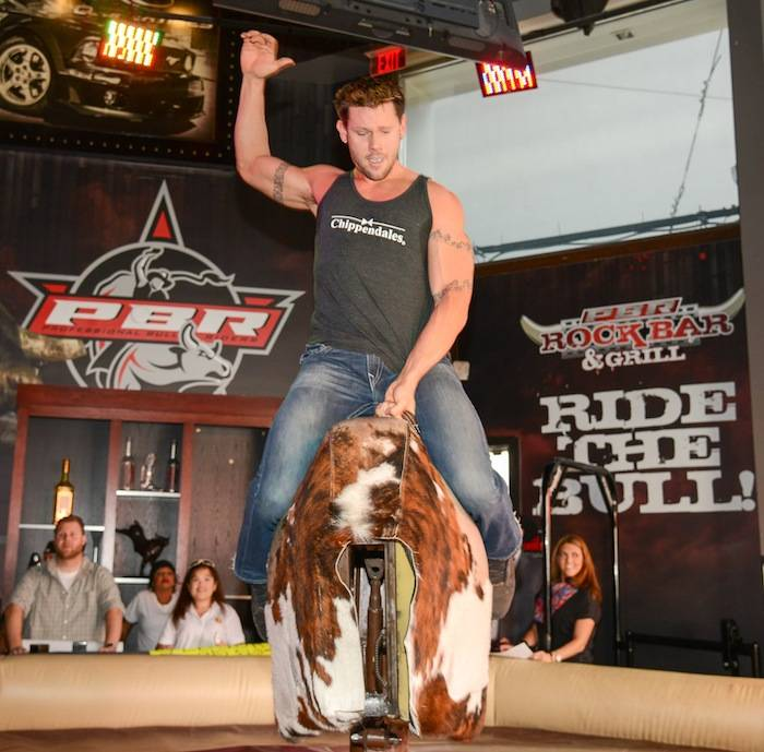 Chippendale Riding the Bull