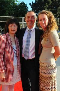 Claudine Cheng, Director of HOPE, Bevan Dufty and Kristie Fairchild
