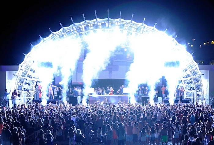 Skrillex/Baauer/Just Blaze/Alvin Risk At Eclipse At Daylight Beach Club At Mandalay Bay