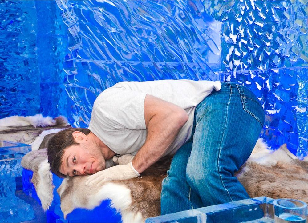 Forrest Griffin at Minus5 Ice Bar
