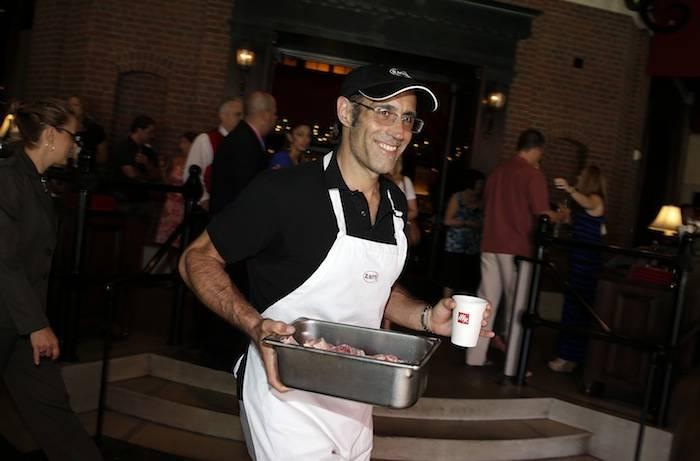 Frank Pellegrino Jr. at Rao's On The Grill at Vegas Uncork'd_credit Isaac Brekken for Bon Appetit
