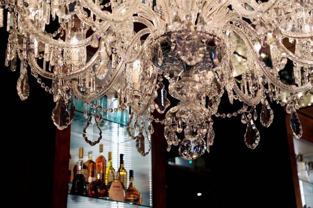 GNH Bar chandelier