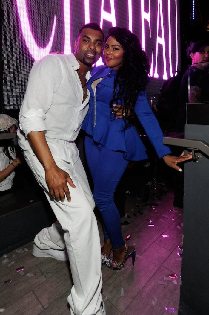 Ginuwine and Lil Kim.