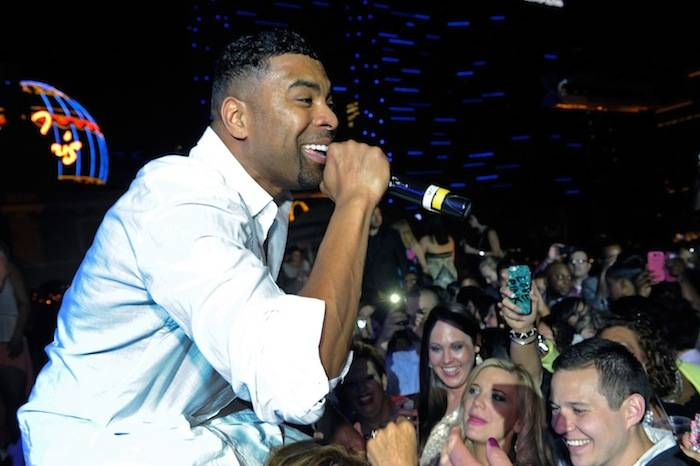 Ginuwine Performs Live On The Rooftop Of Chateau Nightclub & Gardens At Paris Las Vegas