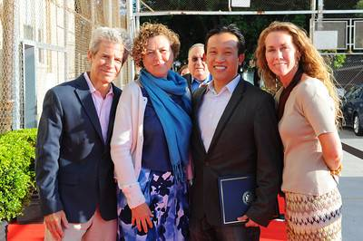 Greg Smith, Julie Christensen, Supervisor David Chiu, Executive Director Kristie Fairchild