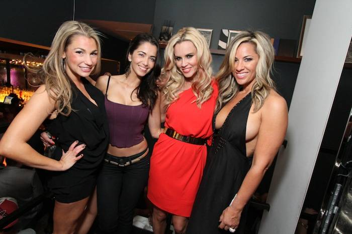 Jenny McCarthy and friends party at Hyde Bellagio, Las Vegas, 5.22.13