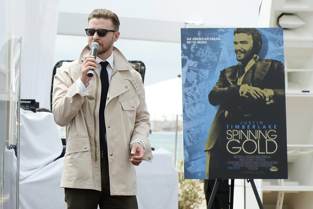 Justin Timberlake (@JTimberlake) celebrates his upcoming film at @cannes