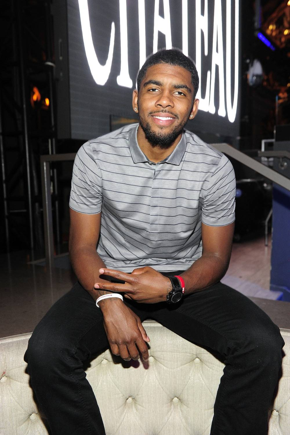 Kyrie Irving Celebrates His Birthday At Chateau Nightclub & Gardens At Paris Las Vegas