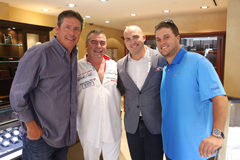 Dan Marino, Franck Muller, Michael Marino, & Joseph Marino
