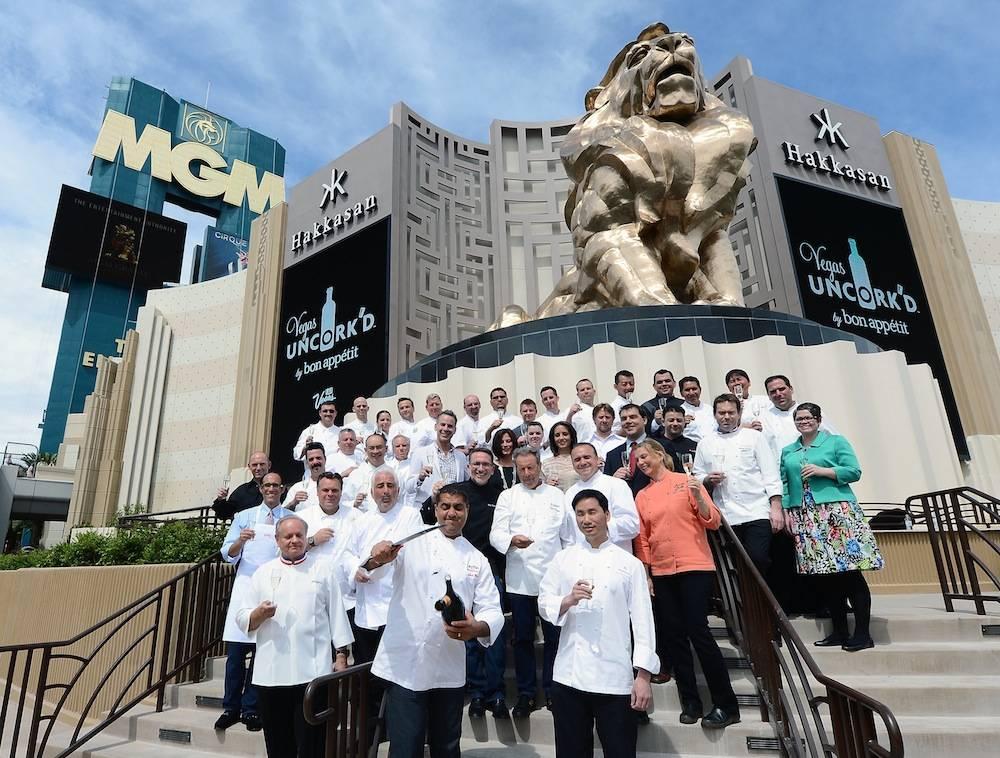 Saber-Off At Vegas Uncork'd By Bon Appetit