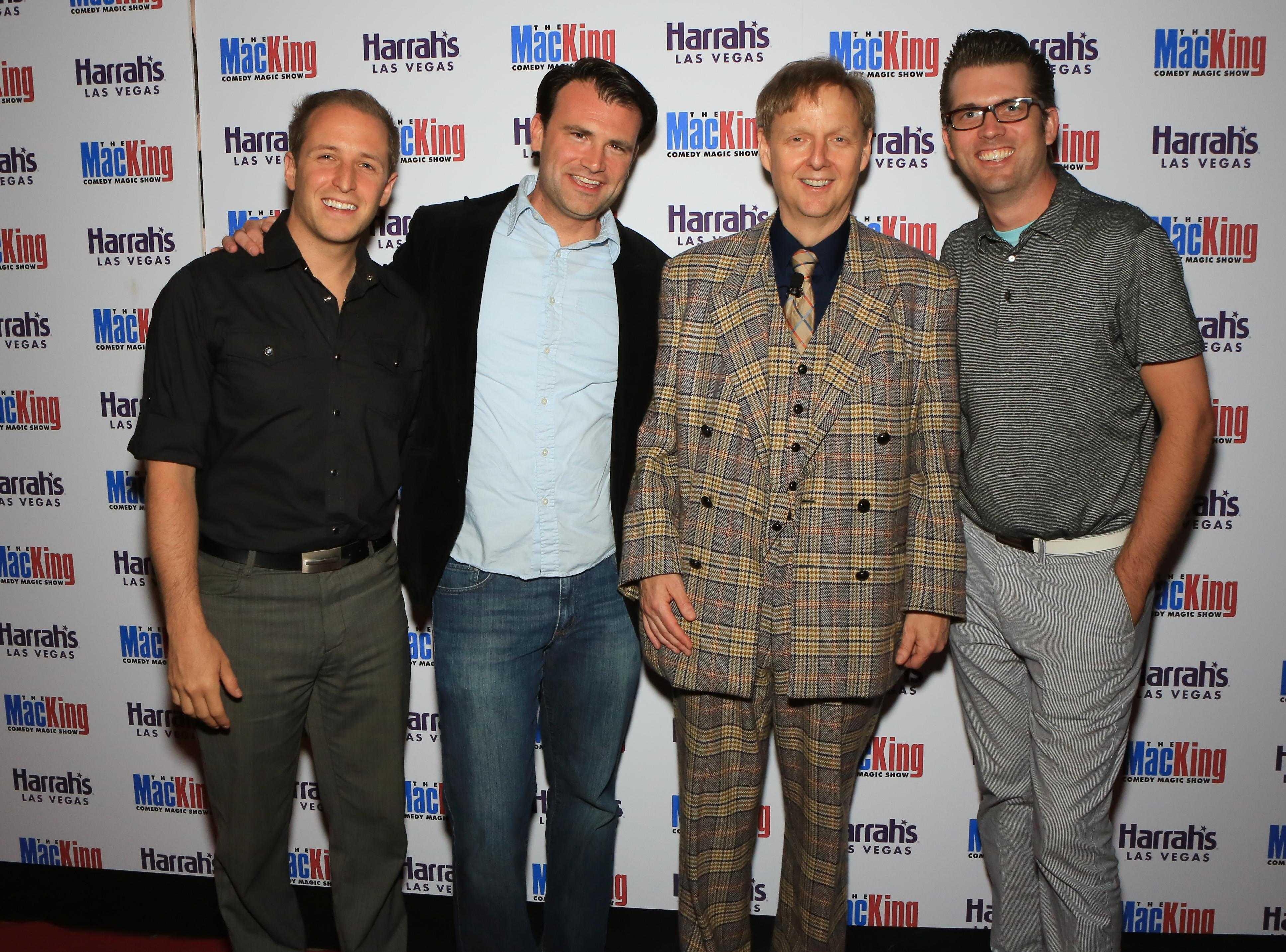 Million Dollar Quartet Cast and Mac King