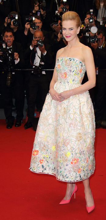 Nicole Kidman in Dior at the Cannes Film Festival. #diorcannes