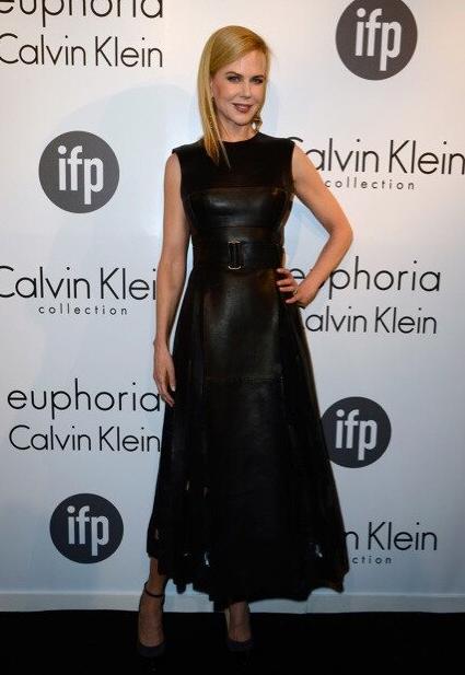Nicole Kidman sleek in @CalvinKlein with @JimmyChooLtd's Balma pumps at Women in Film in Cannes tonight