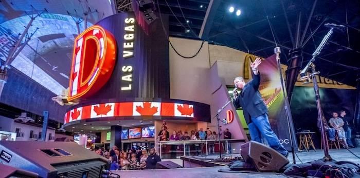Owner Derek Stevens at D Las Vegas, 5.19.13