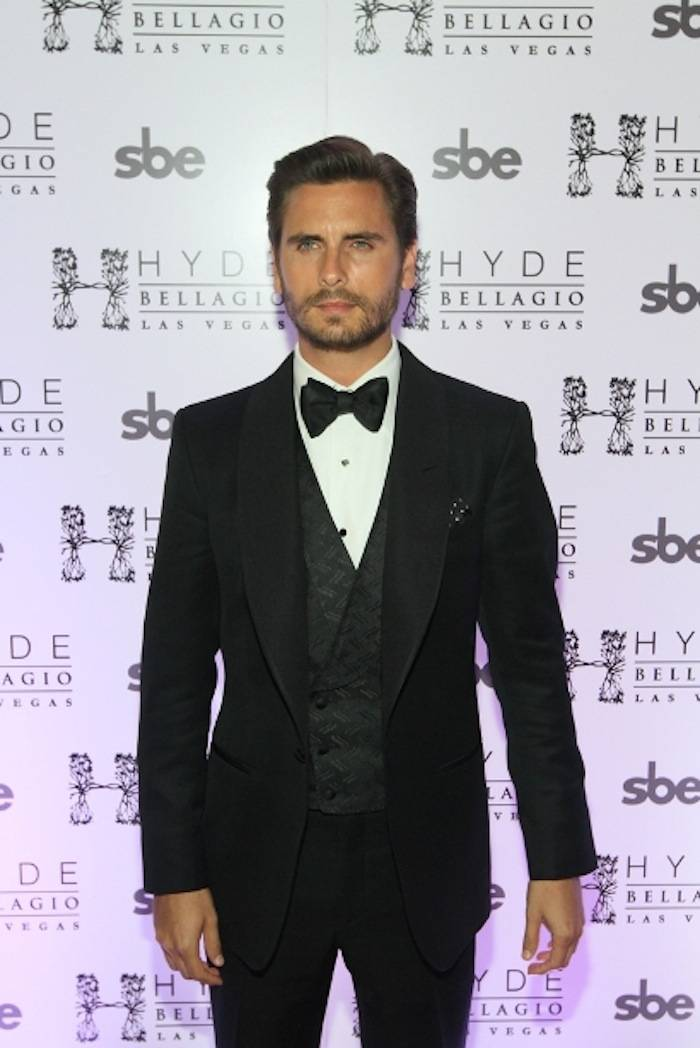 Scott Disick arrives at Hyde Bellagio for 30th Birthday Party, Las Vegas 5.26.13
