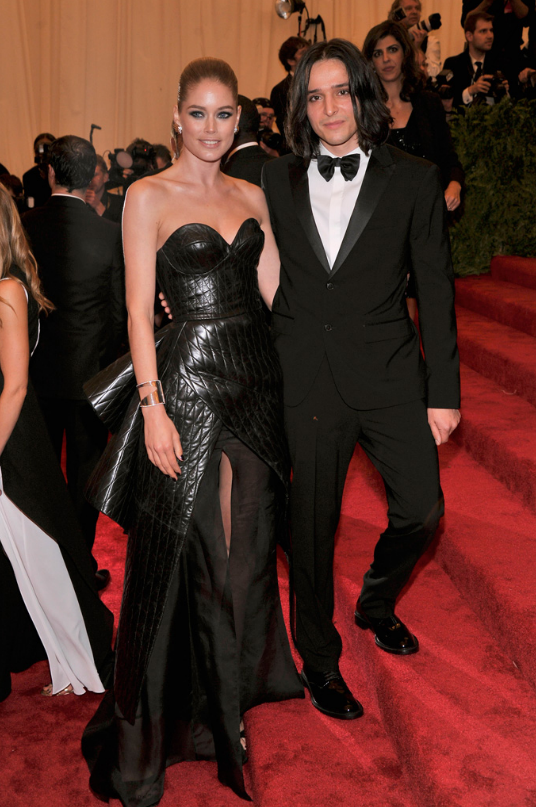 Doutzen Kroes in Theyskens Theory with Olivier Theyskens