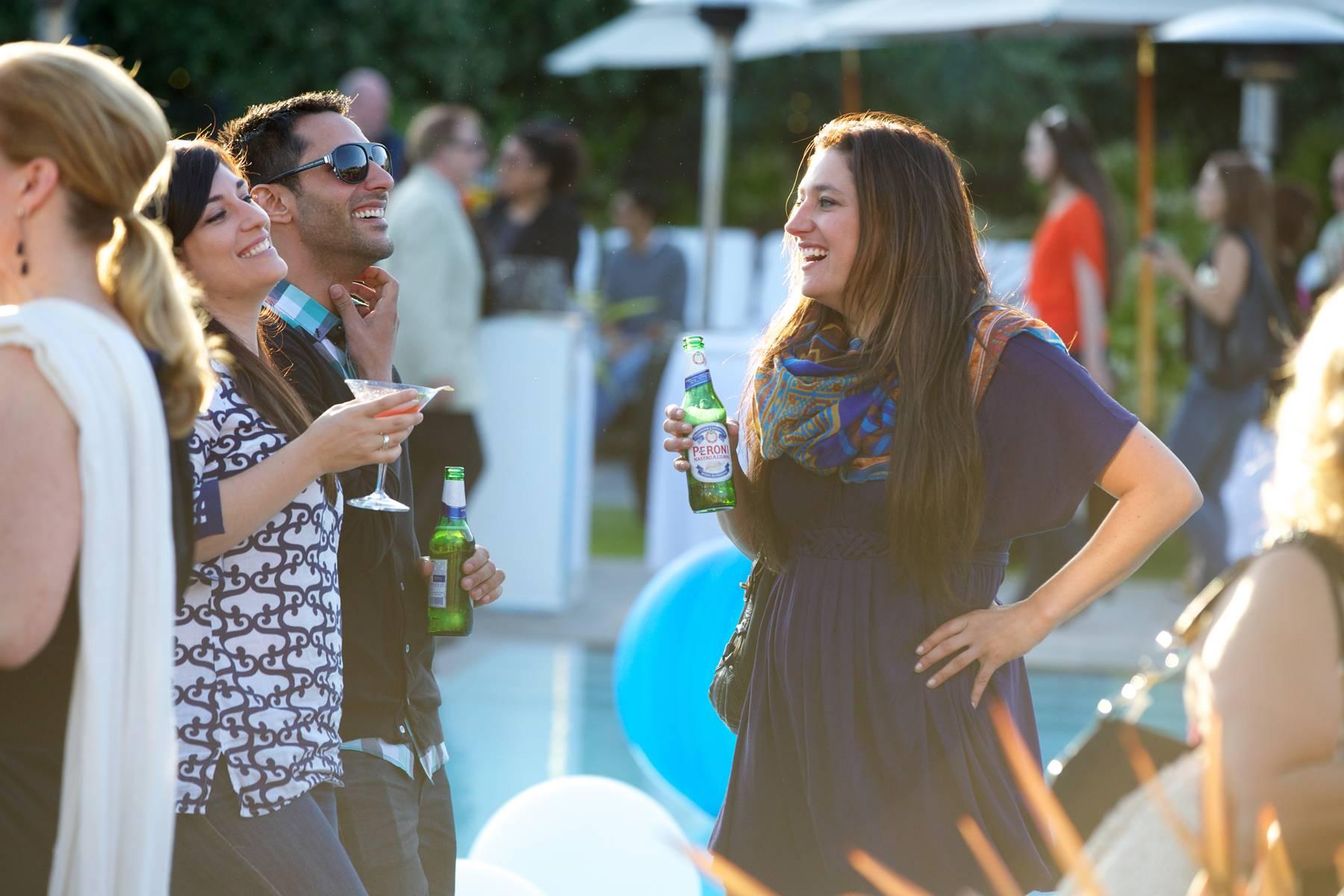 Summer Kickoff Socializing 1