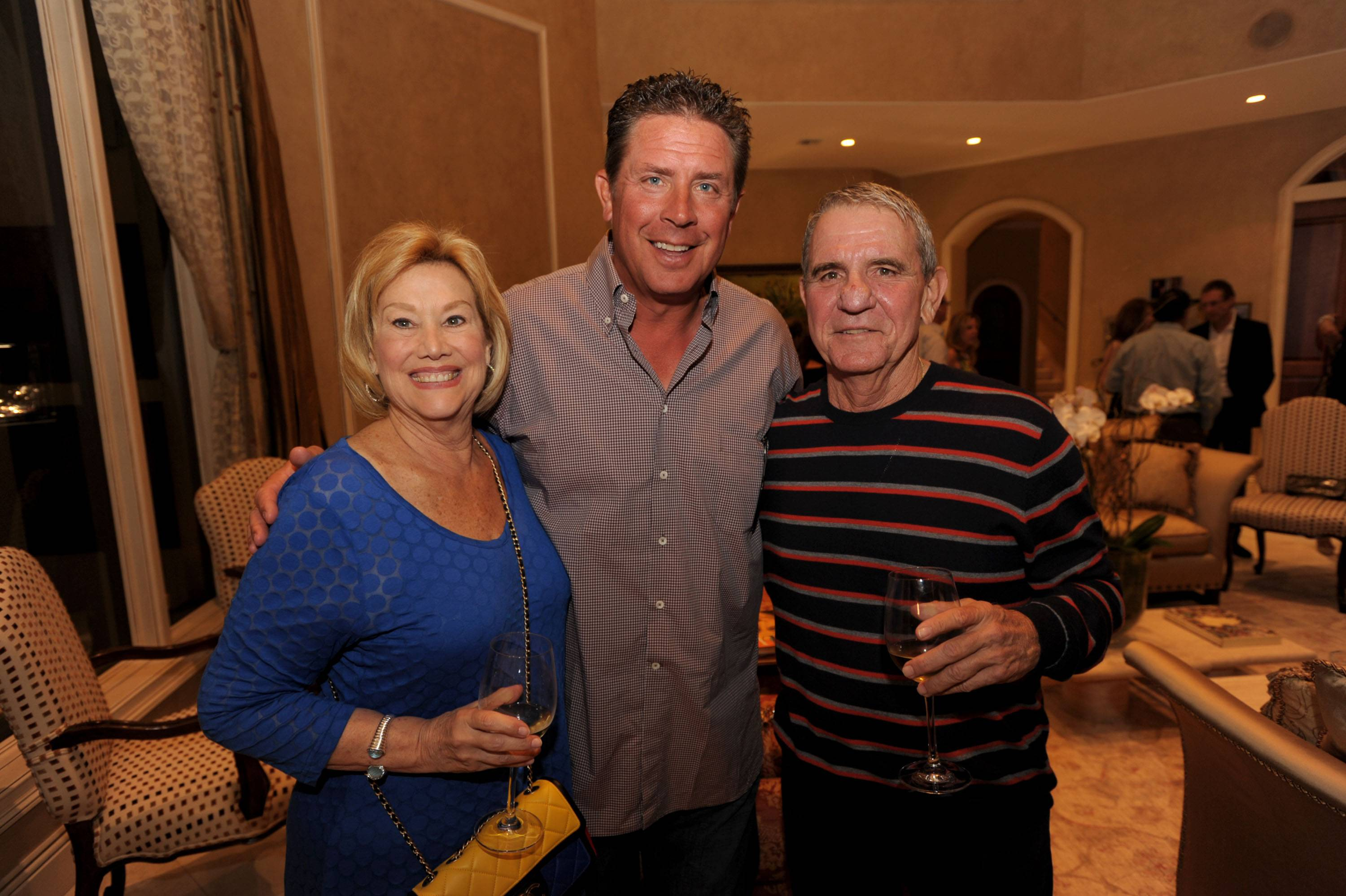 Trudy Gold, Dan Marino, Mark Gold