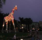 Patrick Mimran – Installation: JetSet-Giraffe – Monte Carlo – Monaco – 2002