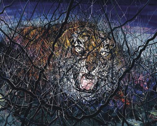 """The Tiger"" by Zeng Fanzhi"