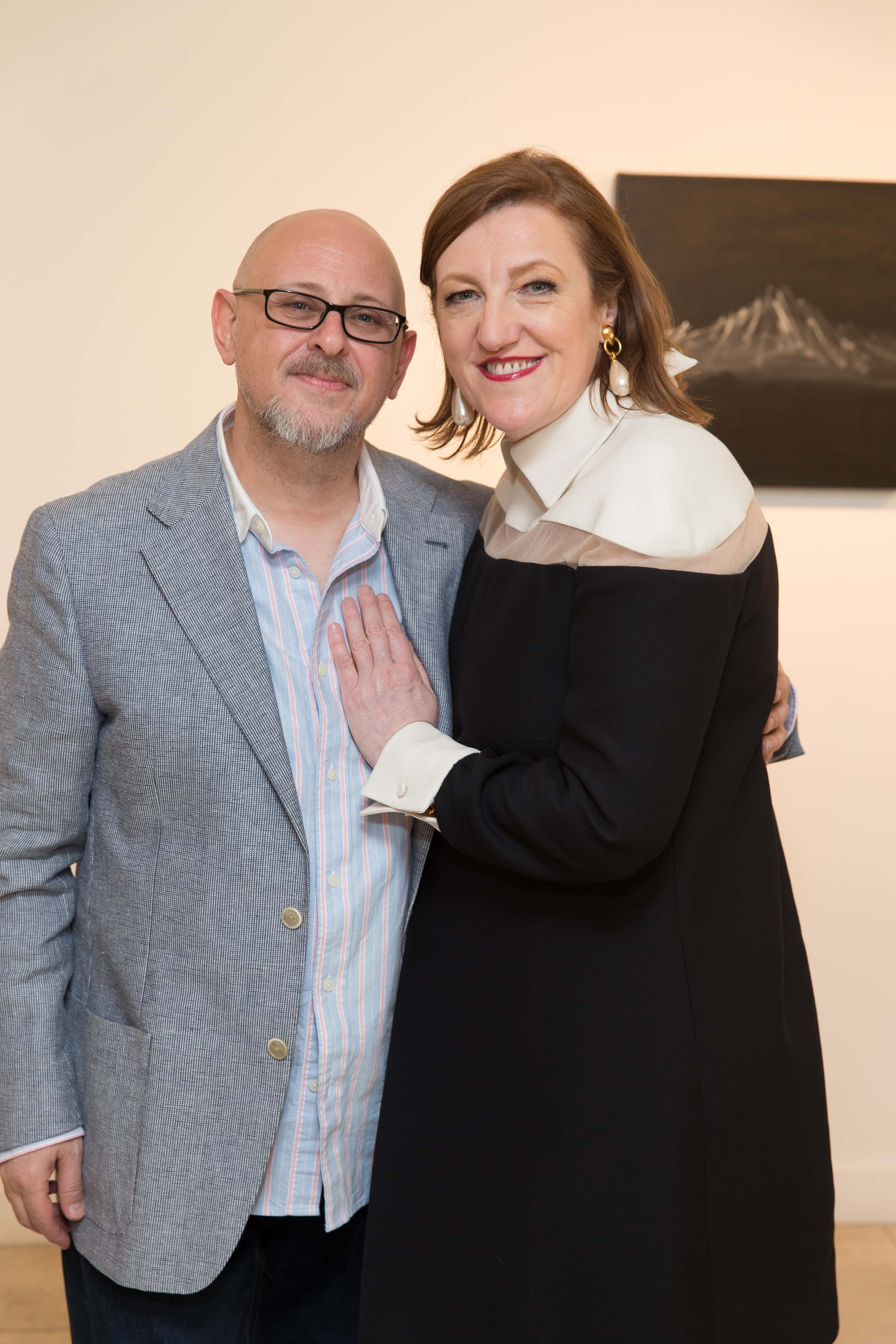 Serge Sorokko Gallery hosts cocktails to celebrate Tthe exhibit opening of Stephen Sumner's FIELD RECORDINGS