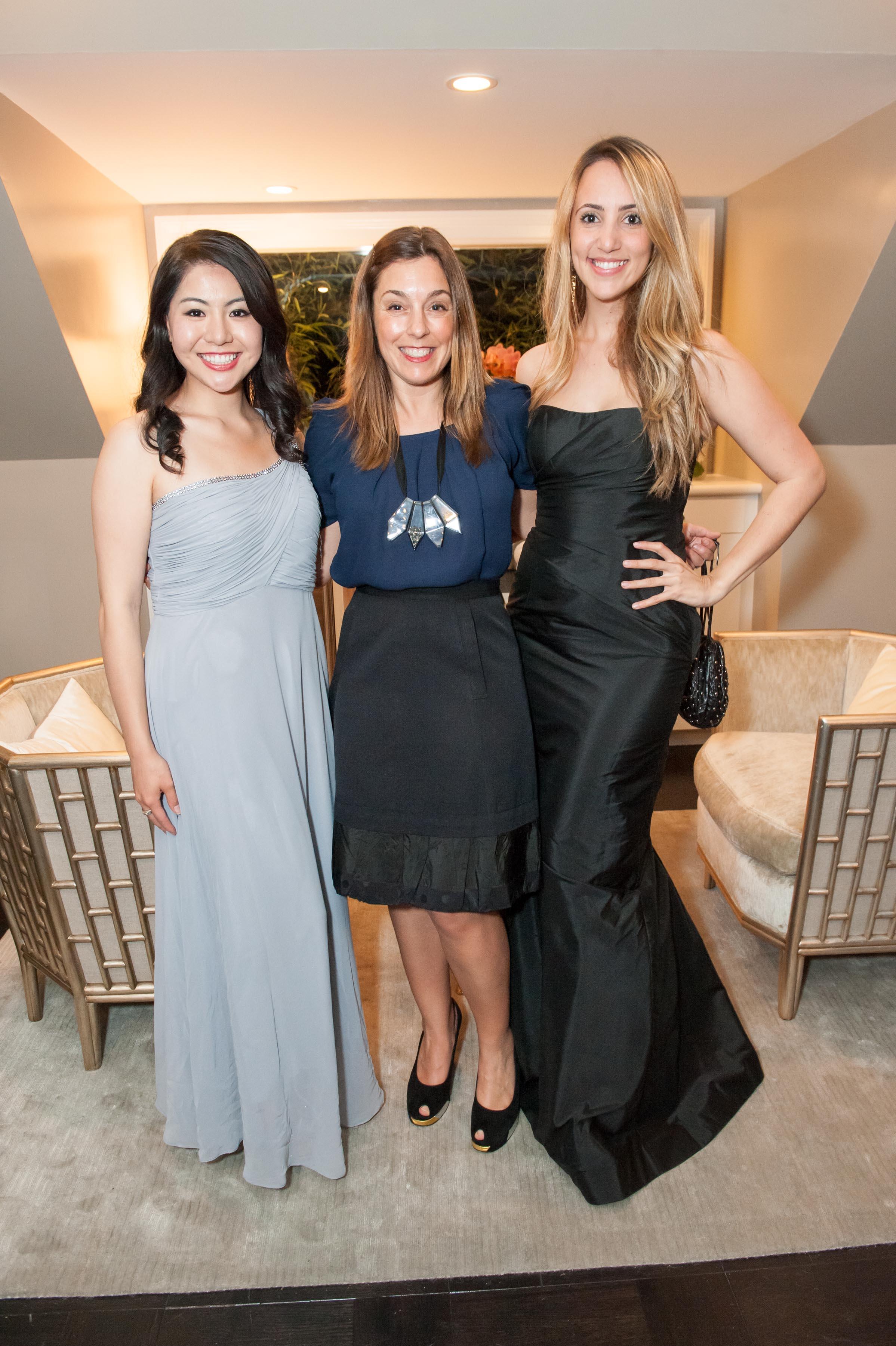 Karen Villanueva, Kendra Reichenau, Julianna Marinho