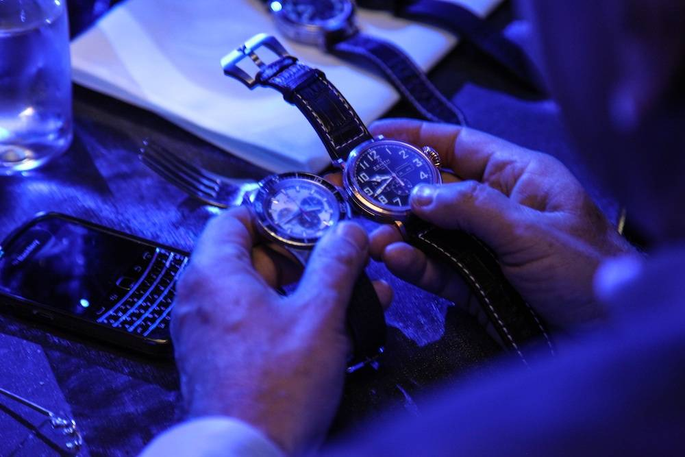 Felix Baumgartner & ZENITH Watches Host Evening At Lavo NYC
