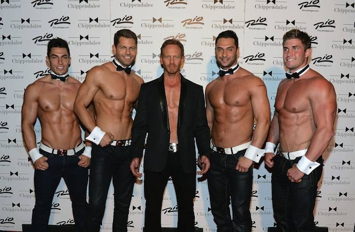 Ian Ziering Debuts In Chippendales At The Rio All-Suite Hotel And Casino in Las Vegas