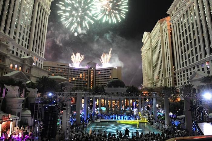 Closing Night Party For IPW 2013 At The Garden For The Gods Pool At Caesars Palace