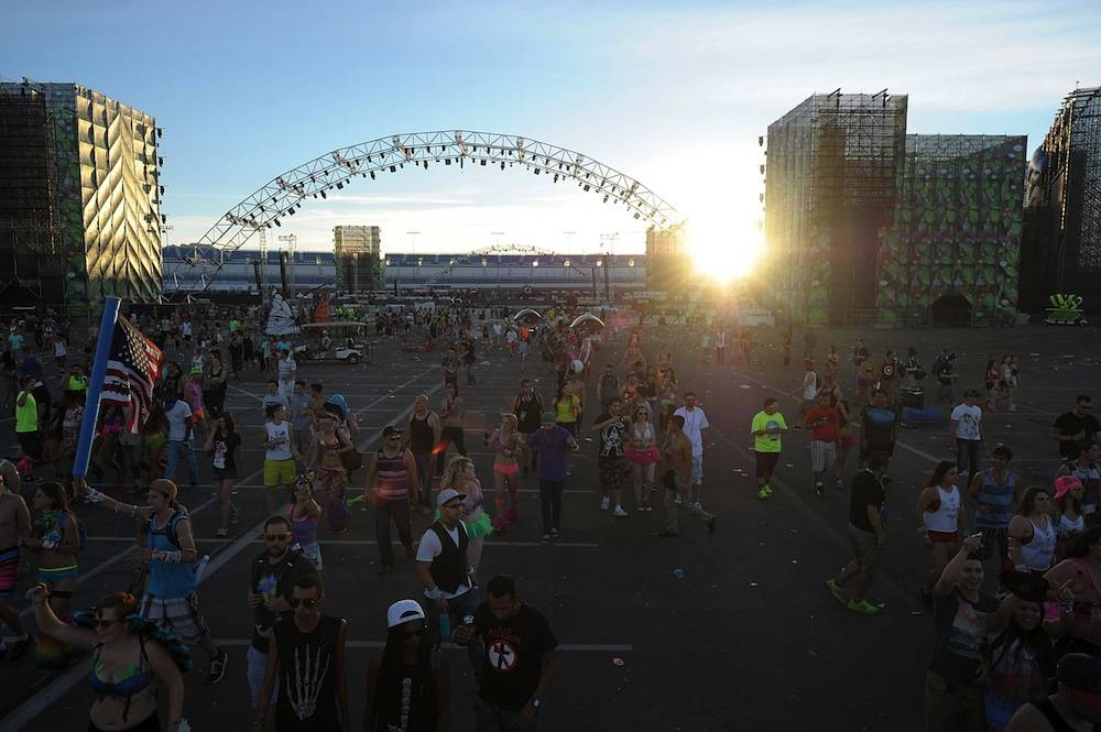 17th Annual Electric Daisy Carnival - Day 3