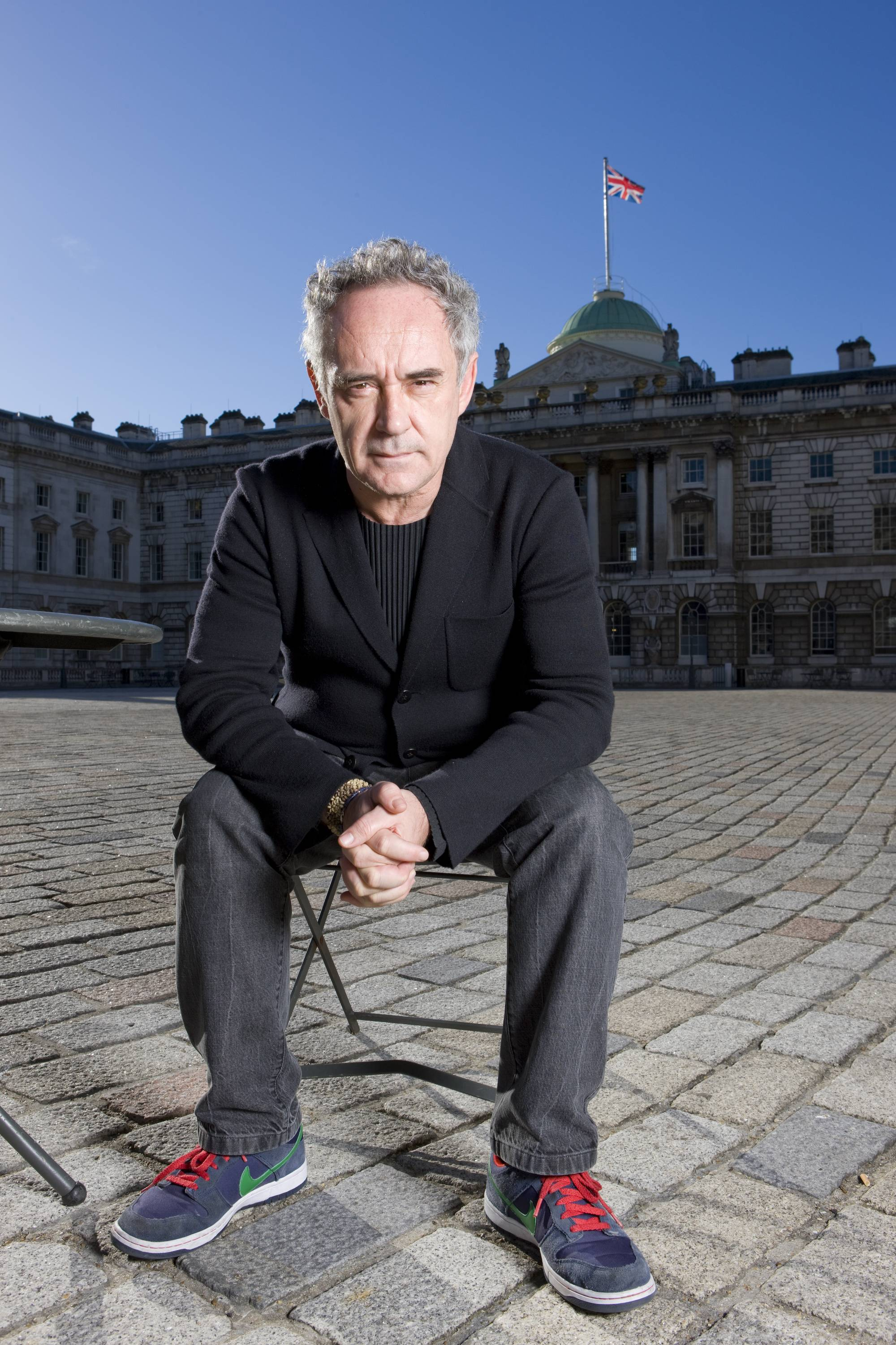 Ferran Adria, El Bulli chef, at Somerset House by Sam Mellish