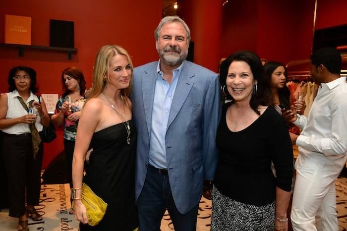 Amanda Hearst, Danny and Robin Greenspun