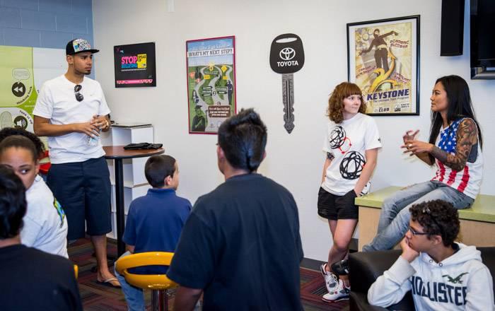 Afrojack at Boys and Girls Clubs of Las Vegas DJ Class in Las Vegas, NV