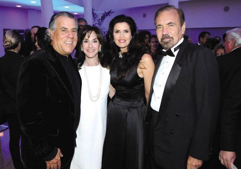 Alan and Diane Lieberman, Darlene and Jorge Perez