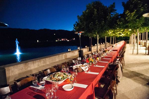 Festival Del Sole - Dinner at Alpha Omega Winery