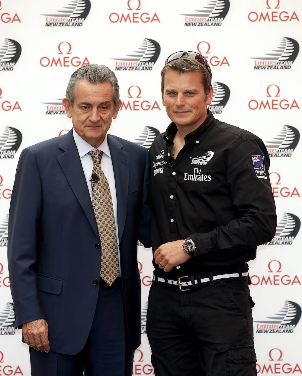 Omega America's Cup News Conference