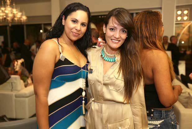 Anel de Castro and Flavia Nguyen