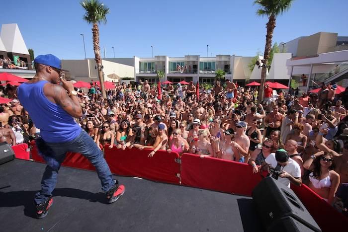 B.O.B. performing at Ditch Fridays