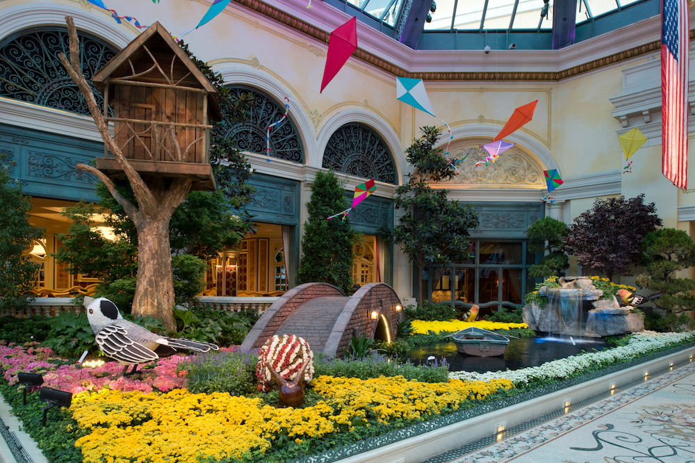 The Bellagio S Conservatory Amp Botanical Gardens Changes