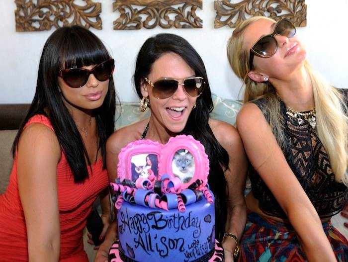 Thomas Gold Performs As Allison Melnick Celebrates Her Birthday With Paris Hilton And Cheryl Burke At Daylight Beach Club At Mandalay Bay