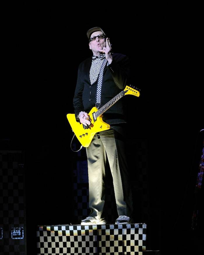 Guitarist Rick Nielsen of Cheap Trick performs at The Pearl concert theater at the Palms Casino Resort on June 15, 2013 in Las Vegas. (photo by David Becker)