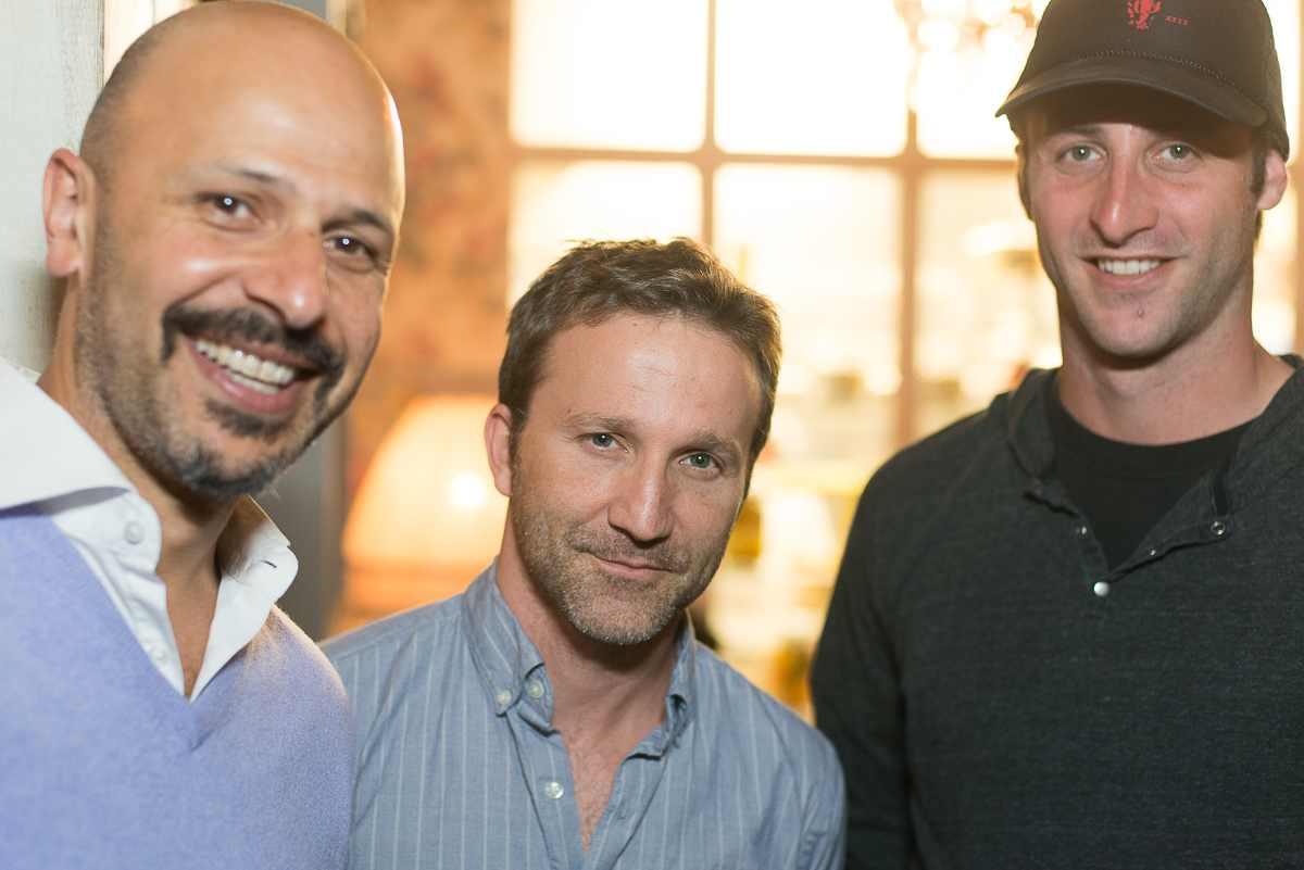 Comedian Maz Jobrani, Actor Breckin Meyer and writer Jesse Stern