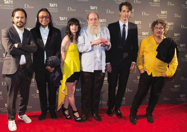 Damian Ortega, Rirkrit Tiravanija, Frances Stark, Lawrence Weiner Richard Phillips and Ernesto Neto