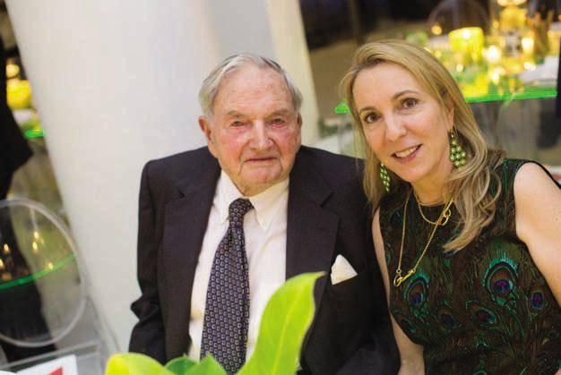 David Rockefeller and Susan Rockefeller