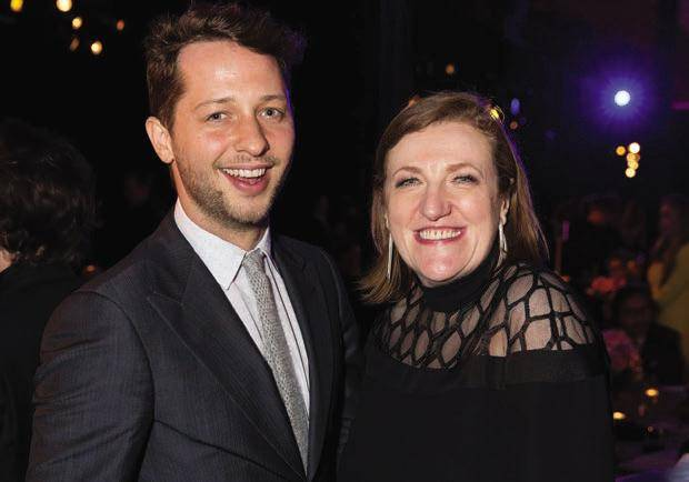 Derek Blasberg and Glenda Bailey