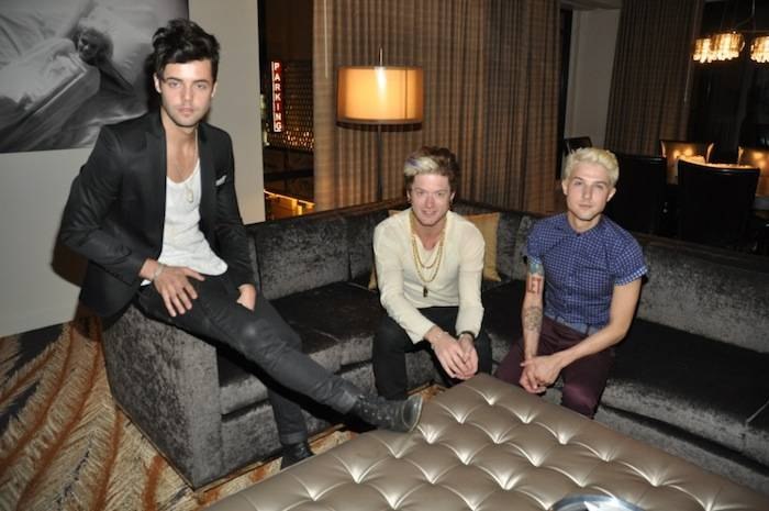 Hot Chelle Rae in Golden Gate Casino Penthouse