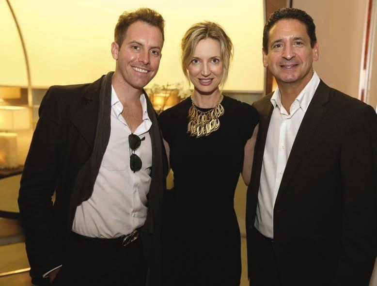 John Brevard, Hadley Henriette and Philip Goldfarb